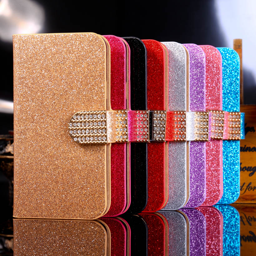 3C Accessories Market Store Store PU Leather Covers Case For LG K7 LTE Tribute 5 LS675 Cases Luxury Bling Protective bag with Card Holder Durable Shell back cover