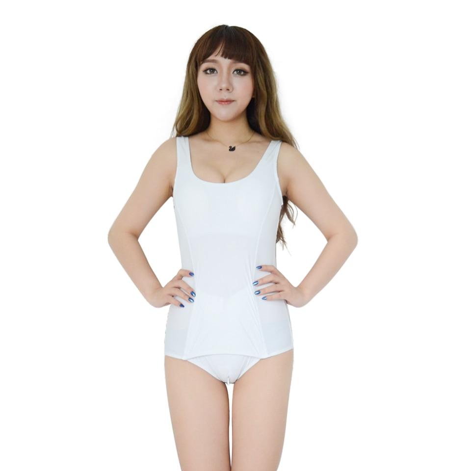 Японский купальник Sukumizu школьный Косплей цельный школьный купальник цельный на молнии B Женский плечевой ремень