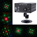 24 Patterns RGB Laser Projector Stage Light Mini LED Lamp with Remote Controller For Family Party Birthday Celebration Wedding