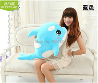 Stuffing Toy Large 65cm Lovely Dolphin Plush Toy Throw Pillow Christmas Gift W9623