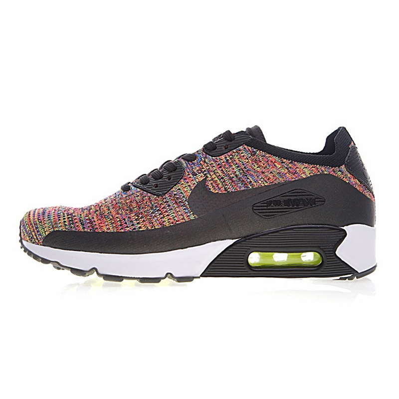 US $218.71 27% OFF|Original Authentic Nike Air Max 90 Ultra 2.0 Flyknit Men's Running Shoes Breathable Lightweight Non slip Outdoor Low top 875943 in
