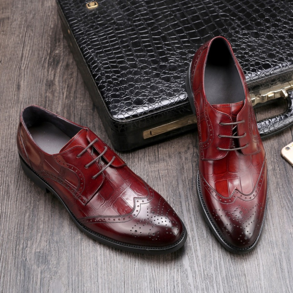 CH.KWOK Coffee Black Wine Italian Leather Dress Shoes For Man Gentle Groom Wedding Tuxedo Party Formal Carved Oxfords Shoes трехколесный велосипед lexus trike grand air ms 0585 фиолет