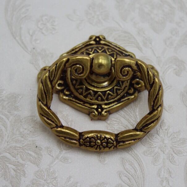 96mm Shaky Drop Ring Drawer Pulls Europe Gold Cabinet Handles Antique Zinc  Alloy Dresser Shoe Cabinet Furniture Pull Knobs In Cabinet Pulls From Home  ...