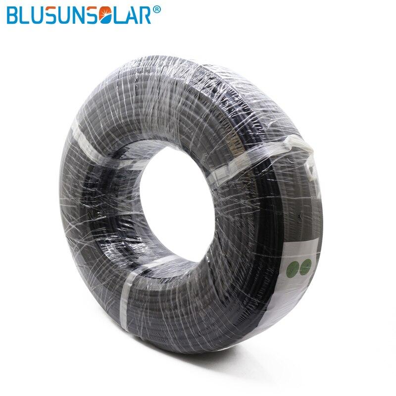 100 medidores/rolo venda quente 20 awg super macio e flexível cabo de fio de borracha de silicone preto/vermelho com embalagem agradável
