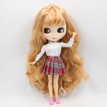 Factory Neo Blythe Doll Light Browm Hair Jointed Body 30cm