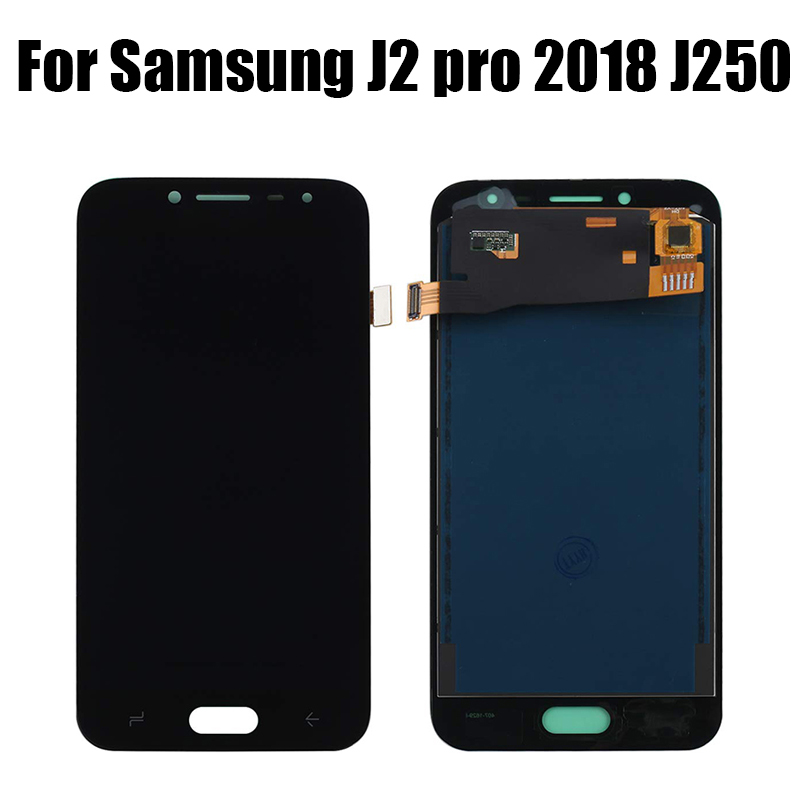 LCD For Samsung Galaxy J2 Pro 2018 J250 J250F SM-J250F/DS LCD Display Touch Screen Digitizer Assembly Replacement