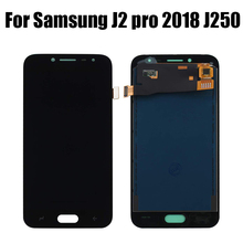 LCD For Samsung Galaxy J2 Pro 2018 J250 J250F SM-J250F/DS LCD Display Touch Screen Digitizer Assembly Replacement lcd for samsung galaxy j2 pro 2018 j250 j250f sm j250f ds lcd display touch screen digitizer assembly replacement