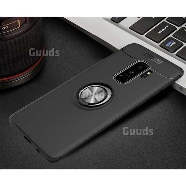 US $3 69 |Guuds for Samsung Galaxy S9 s9Plus s8 s7edge note8 Note9 A6  j2prime Auto Focus Invisible Ring Holder Soft Phone Case S9 Plus S9+-in