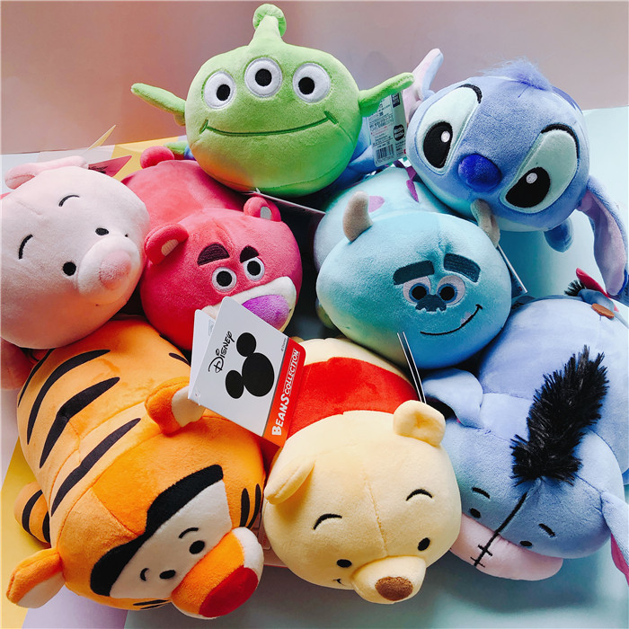 1pc New TSUM Chip N Dale Chipmunk Plush Toys Cartoon Sully Stitch Plush Pillow Collection Girls Gifts