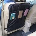 Protetora capas para assentos de carro de volta assento de malha de volta caso capa preta proteger mat para crianças bebê kick lama limpo