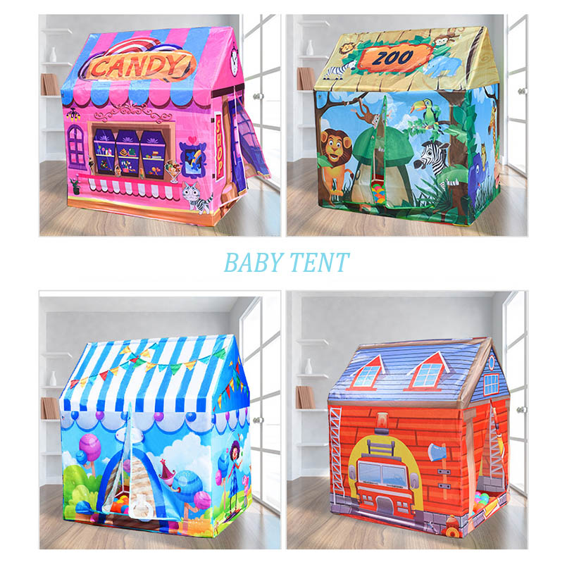 Outdoor Foldable Play Kids Tent House Ball Pool Wigwam Playhouse Infant Baby Tent Toys For Children Princess Castle Ball Pit baby foldable tents pink play house for camping kids ball pit outdoor toys