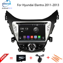 HD 8 inch 1024×600 Quad Core Android 5.1.1 Auto PC Android 5.1 Car DVD GPS For Hyundai Elantra/Avante/I35 2011-2013 support 3G