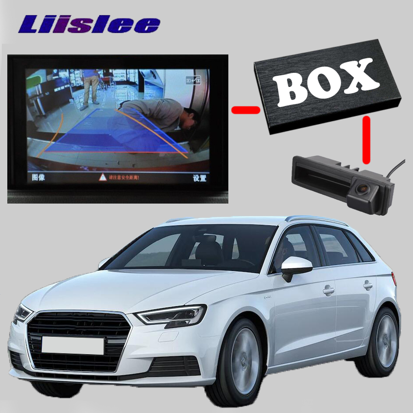 Liislee Rear Backup Camera Interface Kit For Audi A3 8L 8P 8V RMC NavPlus MMI system