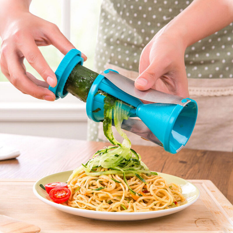 Cooking Tool Vegetable Fruit Spiral Slicer Spirelli Graters Carrots Spiralizer