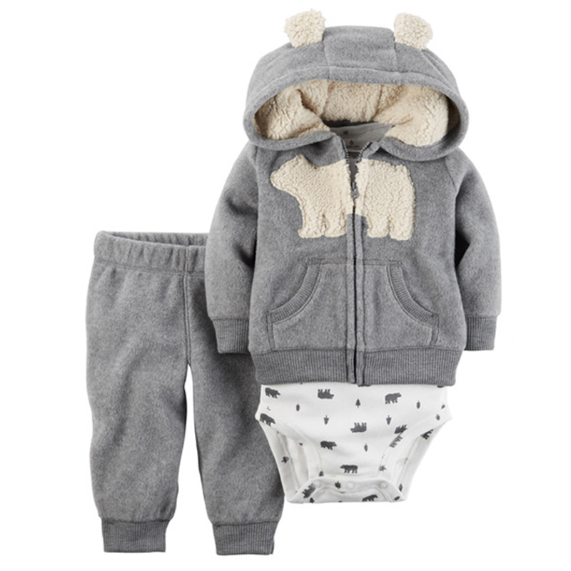 Baby-Boy-Girl-Clothing-set-3-Piece-Bodysuit-Hooded-Long-Sleeve-Outwear-Pants-carter-Cotton-Bebes (4)