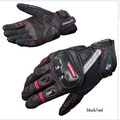 2016 KOMINE GK160 motorcycle gloves breathable dry leather carbon fiber 3D knight riding glove 3color size M L XL