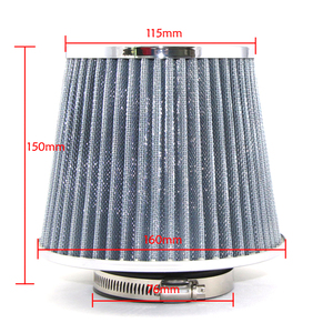 Image 2 - R EP Car Air Filter 2.5/2.75/3inch for Universal Cold Air Intake High Flow 65mm 70mm 76mm Performance Breather Filters