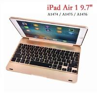 9.7'' ABS Coque for iPad Air 1 Keyboard Case A1474 A1475 Bluetooth Wireless Keyboard Case for iPad Air Case with Keyboard