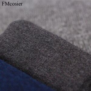 Image 5 - 8 Pairs حجم كبير الرجال القطن فستان لينة الأعمال الرسمي بلون الجوارب الخريف الشتاء الدافئة أسود أبيض 48 44 45 46 47
