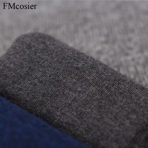 Image 5 - 8 пар размера плюс мужское хлопковое мягкое платье деловые однотонные осенние носки зимние теплые черные белые 48 44 45 46 47