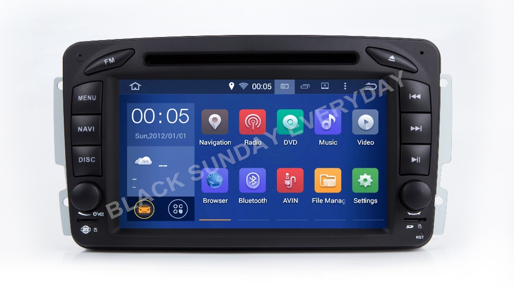 Android 9.0 4 Core Car DVD Player for Mercedes <font><b>Benz</b></font> Viano Vito <font><b>W203</b></font> W209 G Class W463 GPS <font><b>Navi</b></font> <font><b>Radio</b></font> Stereo 2GB RAM 16 GB ROM image