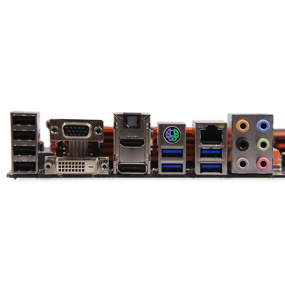 中古オリジナルデスクトップマザーボードギガバイト Z97X-SOC 力 Z97 LGA 1150 コア i7/i5/i3/ペンティアム/Celeron DDR3 64 グラム SATA3 ATX
