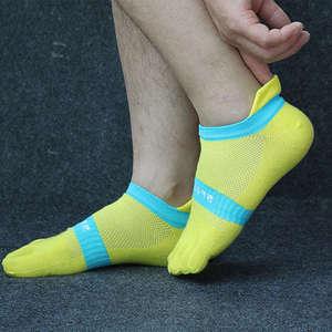Image 5 - טהור כותנה גרבי הבוהן גברים רשת לנשימה חמש אצבע גרב מזדמן קרסול גרבי חדש אופנה גברים של חמש הבוהן גרב 6 זוגות\חבילה