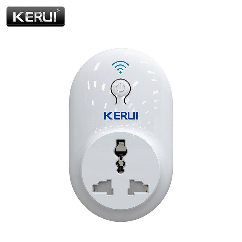 KERUI S72 Wireless WiFi Intelligent Smart Power Socket Phone APP Remote Control Appliances With EU AU