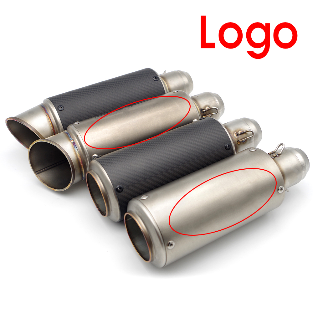 Motorcycle exhaust pipe For motorbike exhaust fz8 yamaha fz1 honda cb1000r For yamaha xmax 300 dl250