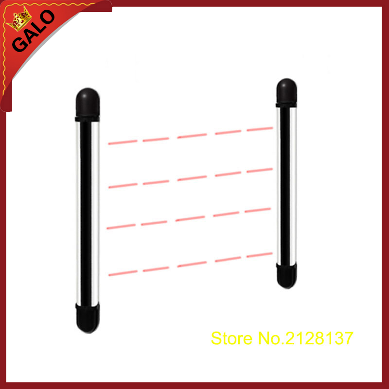 galo Outdoor window door gate skylights Photoelectric 4 beam 10m Detectorbarrier sensors a pair photoelectric sensors gos 10c leveling sensor factory