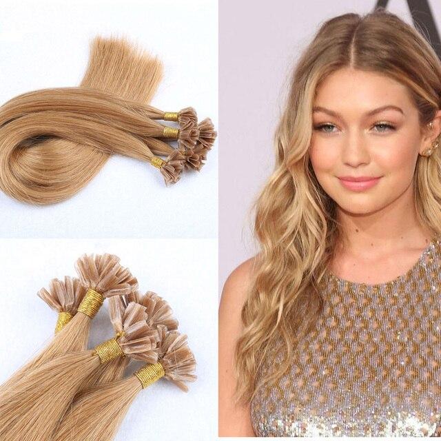 Keratin U Tip Human Keratin Hair Extensions 05gs Nail Tip Hair