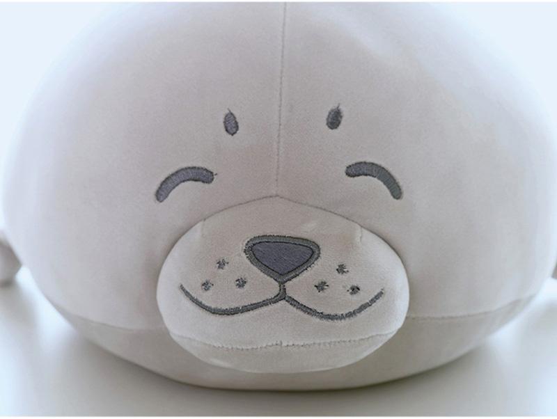 1pcs Cute Soft Animal Sea Lion Doll Baby Sleeping Pillow Marine Animals Seal Plush Toy Kids Stuffed Toys Gift (25)