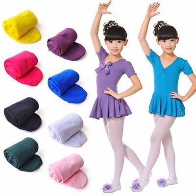 Kids-Girls-Baby-Soft-Pantyhose-Tights-Stockings-Ballet-Dance-Velvet-SML-1