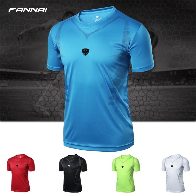 2019 New Men Summer Men s Sport Soccer Jerseys Tshirts Slim Fit GYM O neck Short