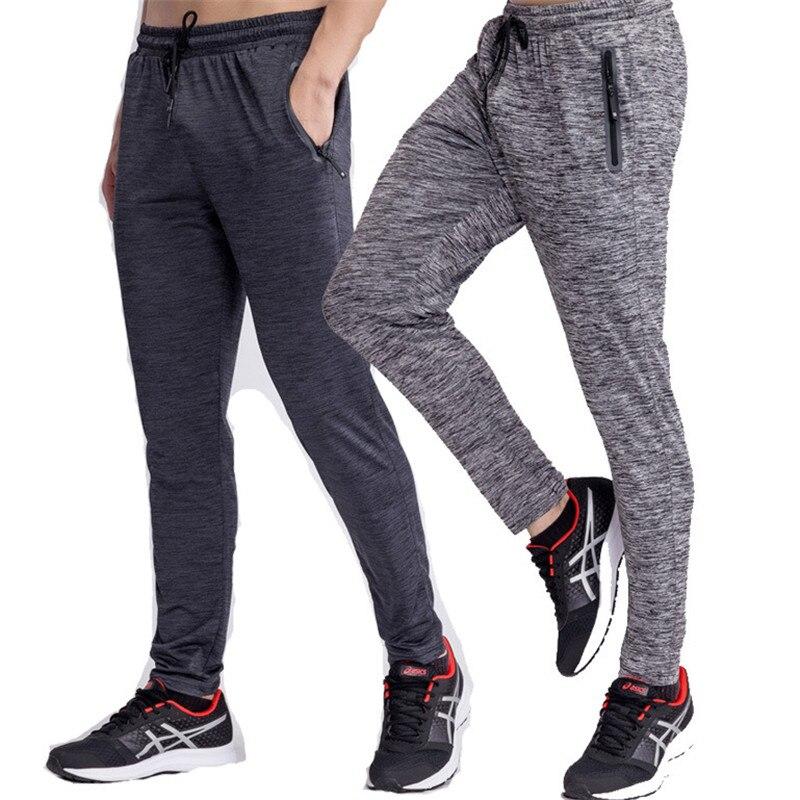 2018 Mens Pantaloni Della Tuta Pantaloni Quick Dry Traspirante Uomini Crossfit Fitness Calzamaglia Pantaloni Skinny Leggings Uomini Palestre Sportswear Cerniera