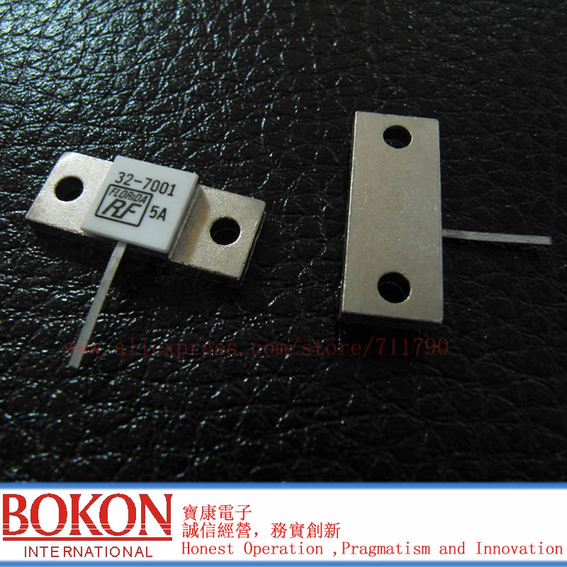 TERMINATION FLANGE MOUNT 250W 50 Ohms Dummy Load Resistor 32-7001 250W 50R 50 Ohms 250 Watt Single PIN New Original