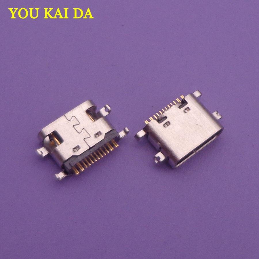 2pcs Micro Mini USB Type-C Jack Socket Connector Charging Port Dock Plug Replacement Repair Parts For Vernee X MT6763 Octa-core