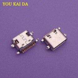 2 шт., разъем micro mini USB Type-C jack, зарядный порт, док-разъем, замена, запасные части для Vernee X MT6763 Octa-core
