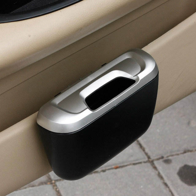 Car Trash Bin holder/Car trash can garbage/Mini Auto Rubbish Dustbin/Car Ashtray box Car Storage Case Accessories