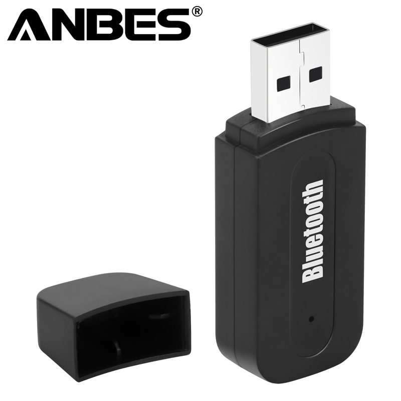 Anbes Bluetooth AUX Adapter Bluetooth Car Wireless Portable Mini Music Audio Receiver Stereo Audio for Car Bluetooth Adapter