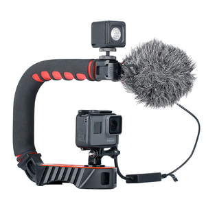 Image 5 - BOYA BY MM1 Condenser Video Recording Microphone on Camera Vlogging for iPhone Samsung Canon DSLR Zhiyun Smooth 4 Stabilizer