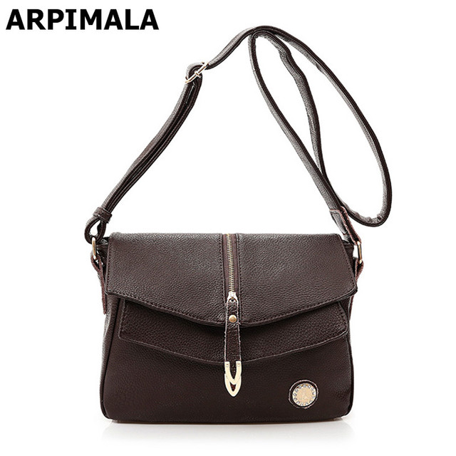 ARPIMALA Cowhide Genuine Leather Bags Designer Handbags Real Leather Best  Designer Women Messenger Bags Shopper Purse Crossbody 44249d22474ea