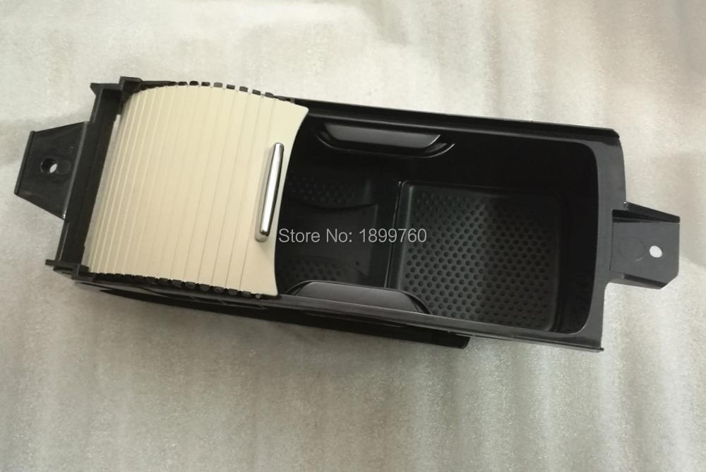 BEIGE New Style Cup Holder Euro Cup Holder Rubber Gel Bottom Center Console Fit For Vw