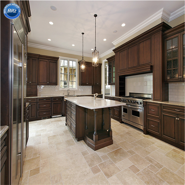 Different Kitchen Style PVC Membrane,Lacquer,Solid Wood,Acrylic Kitchen Caibnet