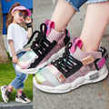 2019 otoño niños zapatillas niñas Zapatos Niños moda Casual niños zapatos para niñas deporte correr niños zapatos cómodos