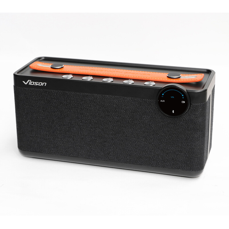 W-king Wireless Bluetooth Speaker Subwoofer Bassbox Sound Box Computer Mini Amplifier Speaker Portable Radios with USB face idea ld 04 snail style 2w mini speaker w usb 2 0 green