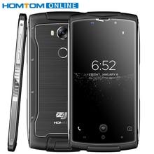 Doogee HOMTOM зоджи Z7 Водонепроницаемый мобильный телефон 5.0 дюймов гориллы Стекло 4 2 ГБ + 16 ГБ 8MP отпечатков пальцев ID 3000 мАч пылезащитный 4 г телефона
