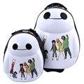"""Baymax мода детская Школьная сумка студенты мальчик девушка камера аниме Большой Hero 6 мультфильм Туризм путешествия чемодан 17 """"милые дети подарок"""