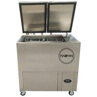 Özelleştirilmiş 12 ay garanti ile dondurma çubuğu popsicle yapma doldurma kapaklama makinesi