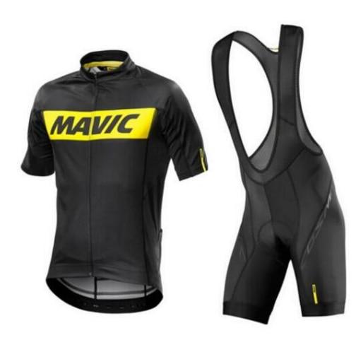 font b MAVIC b font font b Pro b font Sommer Radfahren Jersey Sets 9d